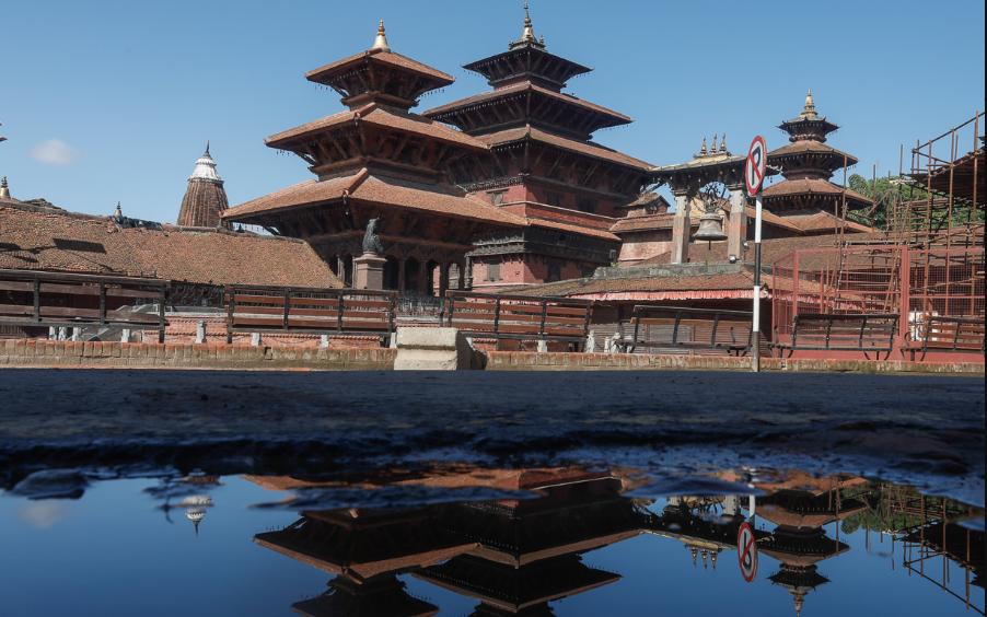 पानी परेपछि खुलेको काठमाडौं (फोटो फिचर)