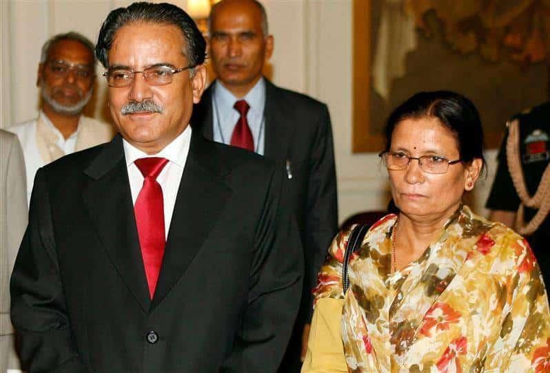 पत्नीको उपचारार्थ प्रचण्ड भारत जाँदै