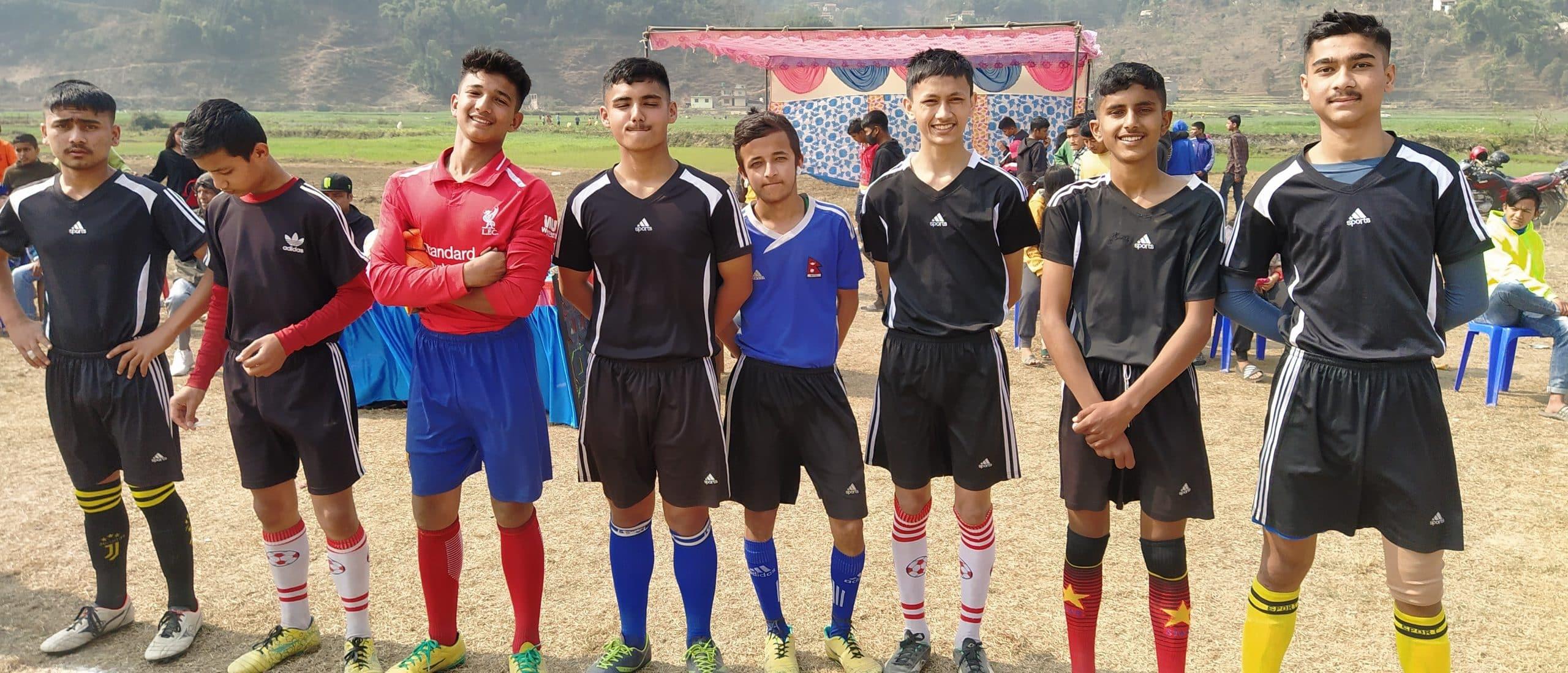 क्लष्टर फर एकेडेमिक डेभलपमेन्ट (CAD) द्वारा आयोजित फुटबल प्रतियोगिता सम्पन्न